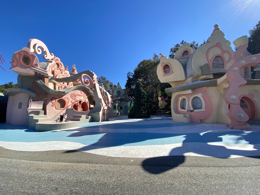 How The Grinch Stole Christmas 2020 Disney Whoville Sets Demolished at Universal Studios Hollywood   Magic